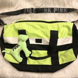 Just in🎄PINK Victoria's Secret travel bag & dog